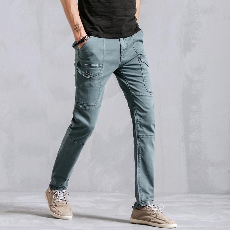 New Men's Casual Pants, Straig...