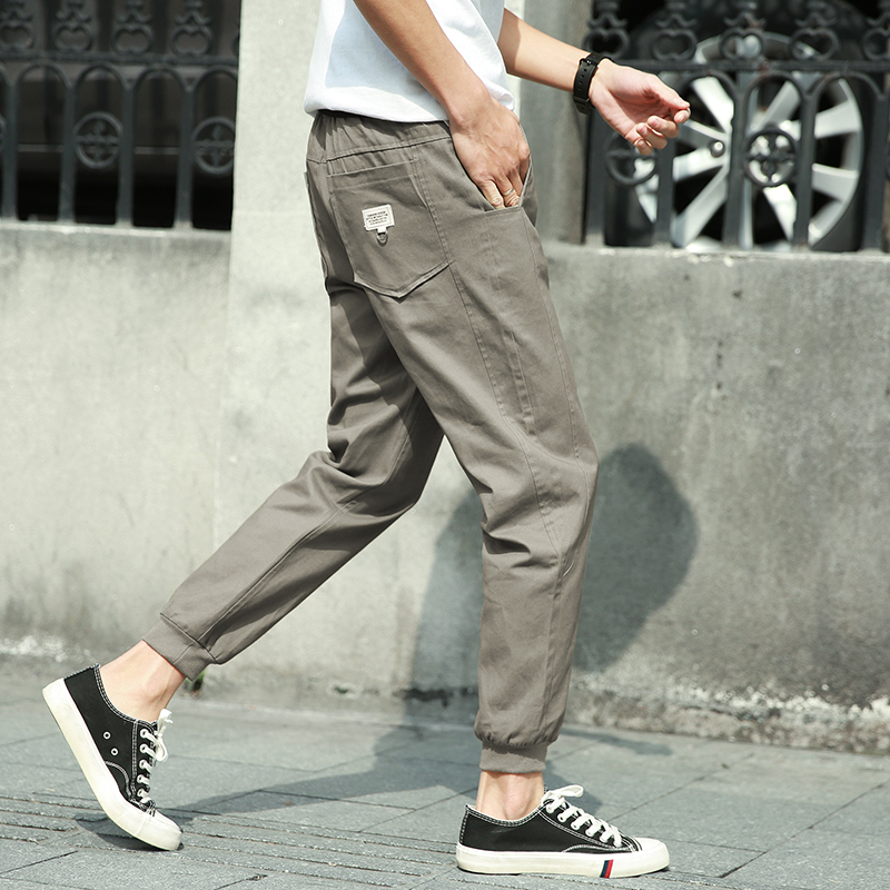 Trousers Men, Korean Version, ...