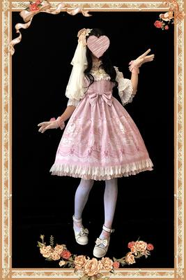 taobao agent 【Infanta. Infanta】LOLITA*Rose Queen* Original printed JSK lace dress in stock