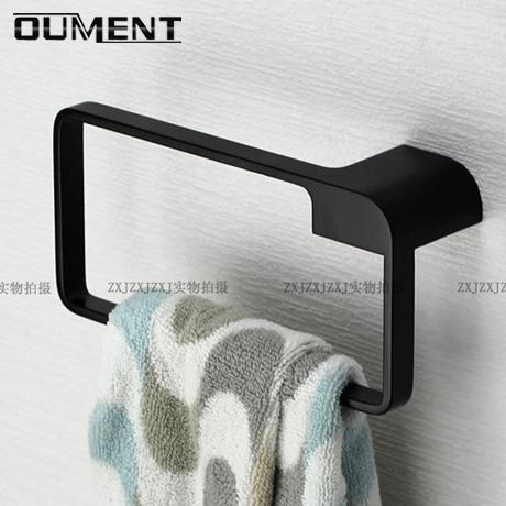 Нержавеющая сталь 304 черный Ванная комната соединения полотенца полностью Медный круг Нортюерн Еуропе полотенца шкафа полотенца круговой царапает рельс полотенца