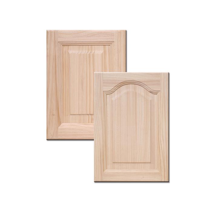 New Zealand Pine Solid Wood Cabinet Door Custom Kitchen Overall Panel