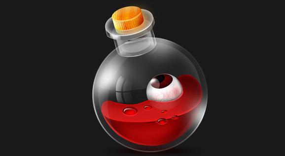 [鼠标绘制]-魔法瓶制作
