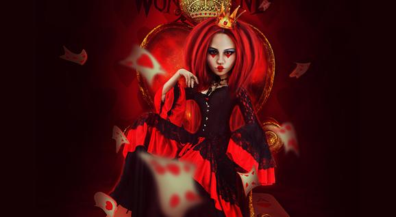 [合成海报]-红心皇后