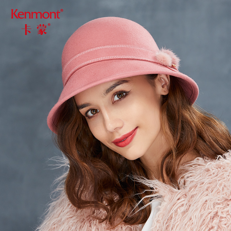Camon dome hat women s wool hat winter Korean fashion warm wool hat Europe  and the United 61d4fdd85c8