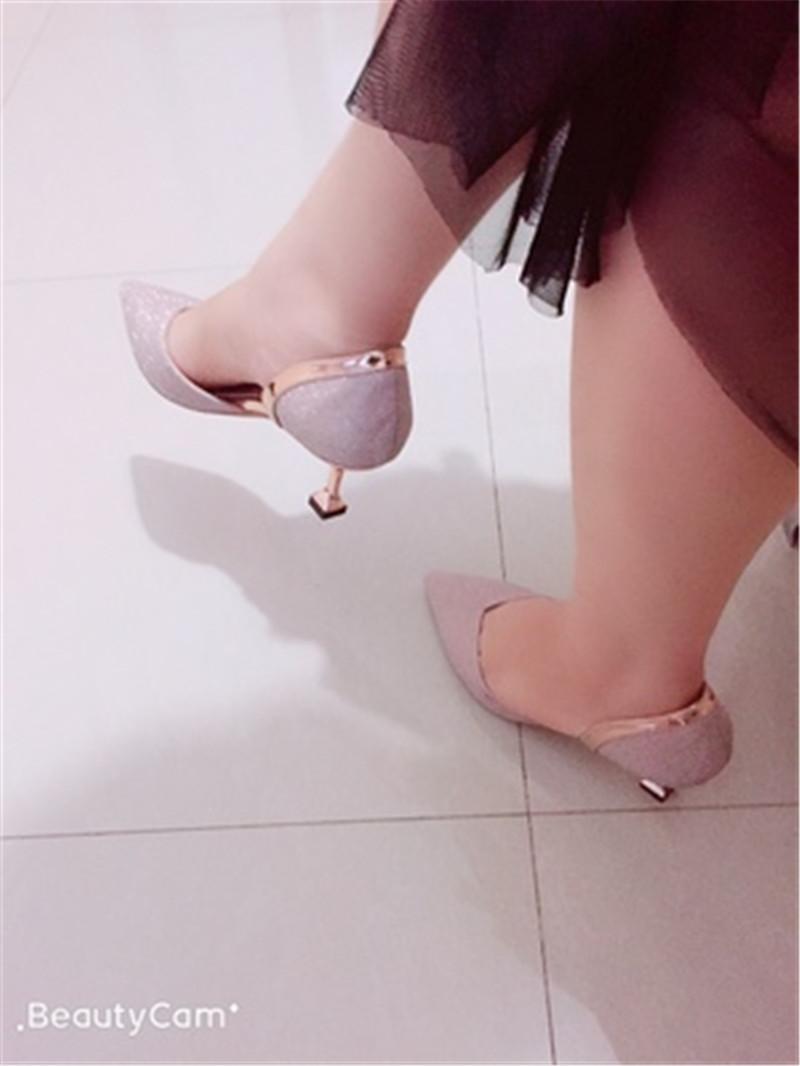 亮片高跟鞋,做最闪亮的女王3