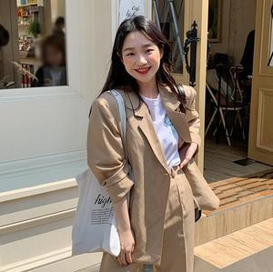 夏季韩版时尚西装 直发