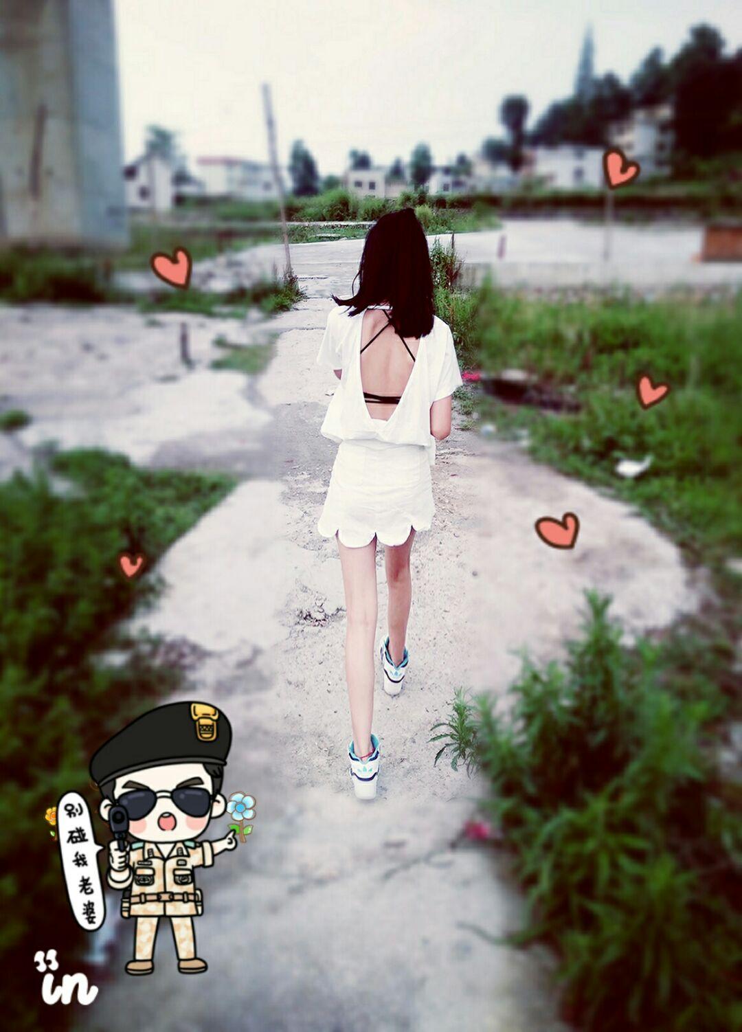 小绿2016/SS 夏季新款大V口露背短袖T恤韩版显瘦性感女上衣