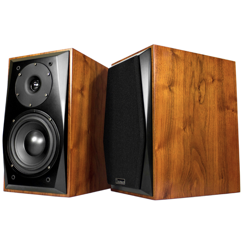 Balenald Bangron BM8 original bookshelf speaker listens to HI-FI