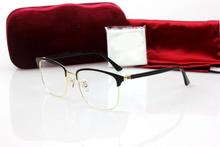 New Type Glass Frame 0130O Square Plate with Metal for Men and Women