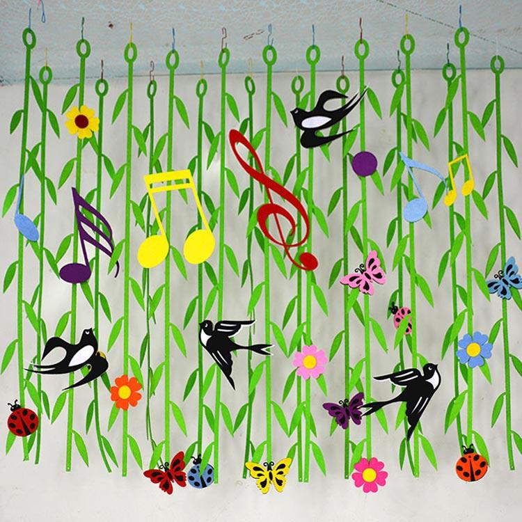 Usd 8 59 Kindergarten Corridor Hanging Hanging Classroom Spring