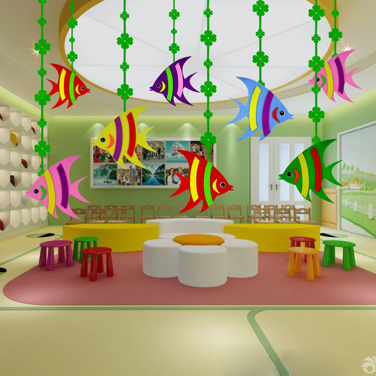 Kindergarten Classroom Hanging Decoration ~ Decoration kindergarten