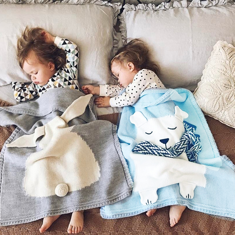 16b4164b98 ins knitted cover blanket spring and autumn blanket baby summer air  conditioning blanket blanket blanket blanket