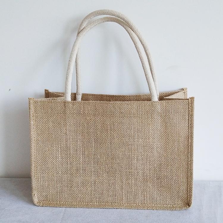 礼品袋子帆布礼袋手提袋大容量可爱简约韩版文艺小清新手提袋制作