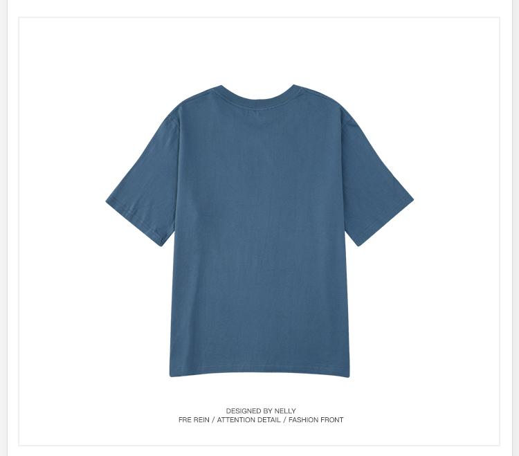 【小尼力】男女纯棉情侣短袖7