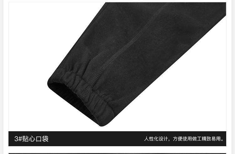 【THORNS】2018秋冬日系潮牌純色針織衛褲學生寬松束腳休閒運動褲男