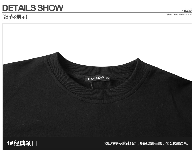 Châu âu và Mỹ thời trang đường phố thương hiệu của nam giới thường skateboard ruồi chết hip hop dài tay T-Shirt retro lỏng Nhật Bản cotton triều tee shop áo thun nam