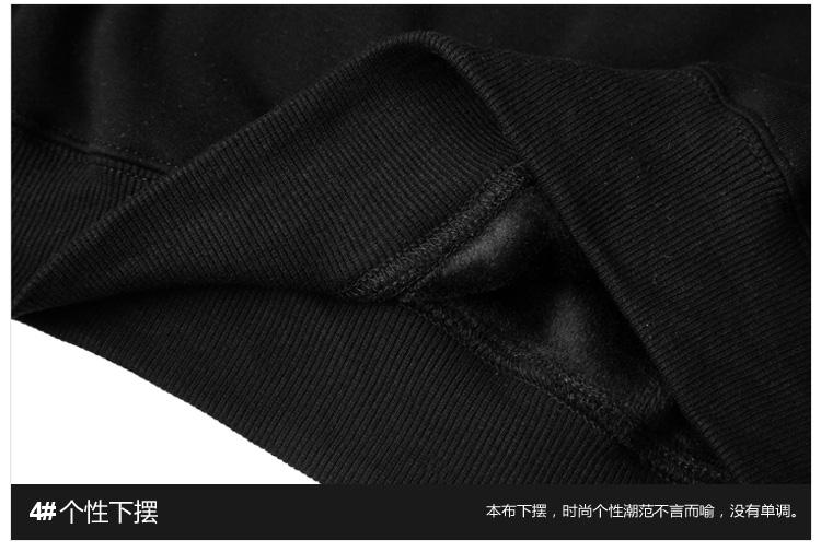 Thủy triều thương hiệu áo khoác quá khổ văn học đội mũ trùm đầu áo len màu hoodies cho nam giới và phụ nữ cộng với cashmere lỏng
