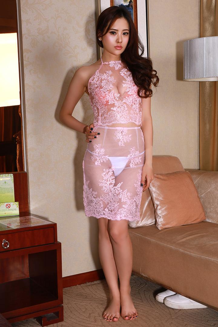 蕾丝刺绣睡裙 - 1505147909 - 太阳的博客