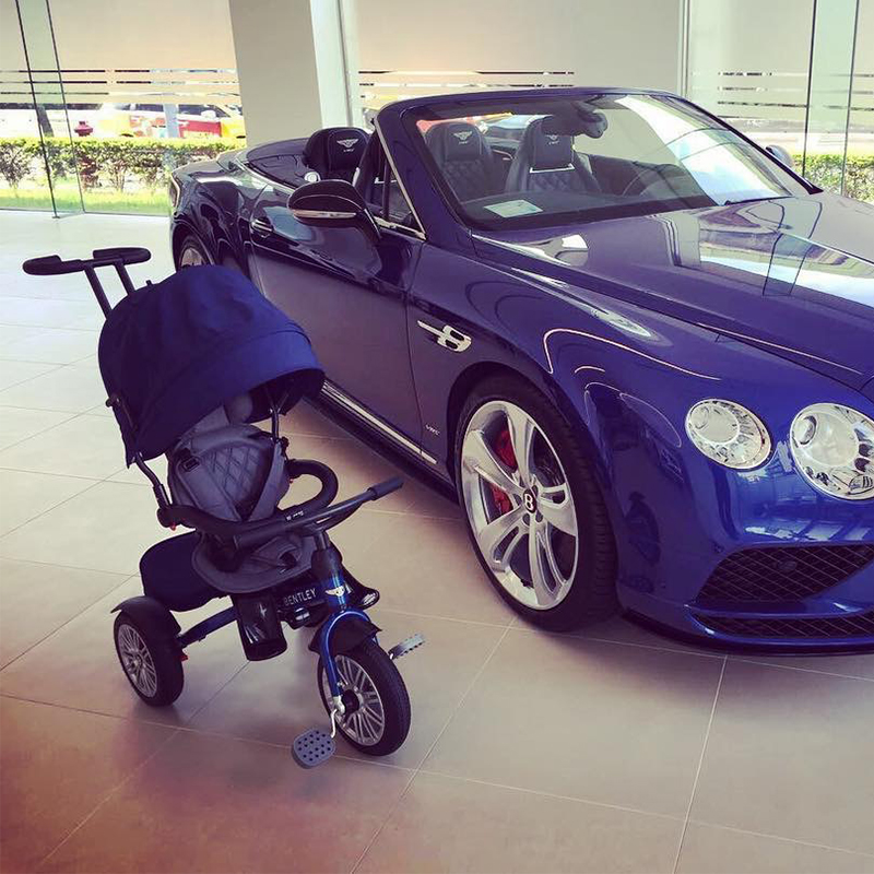 Государственный банк Bently bentley трехколесный велосипед. младенец младенец детские перчатки тележки добровольно фут автомобиль многофункциональный пожизненная гарантия