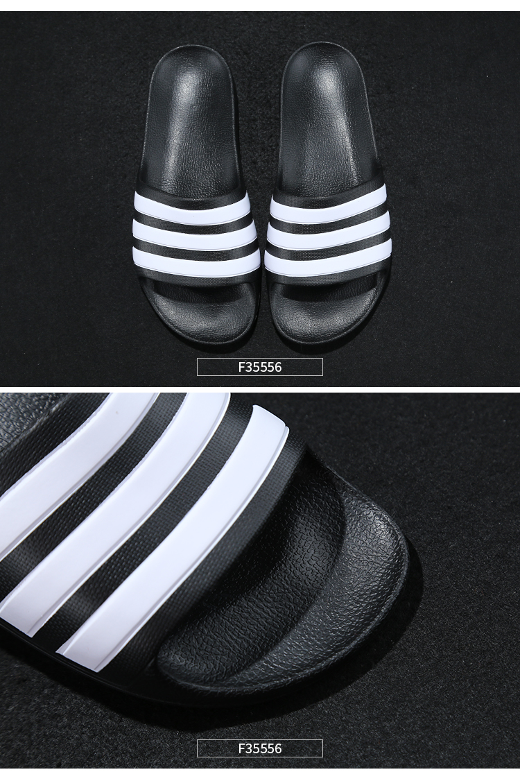 f89b27bbf Adidas slippers male authentic 2019 summer beach casual sports ...
