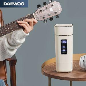 韩国大宇便携式烧水壶旅行出差电热水壶家用全自动迷你保温一体