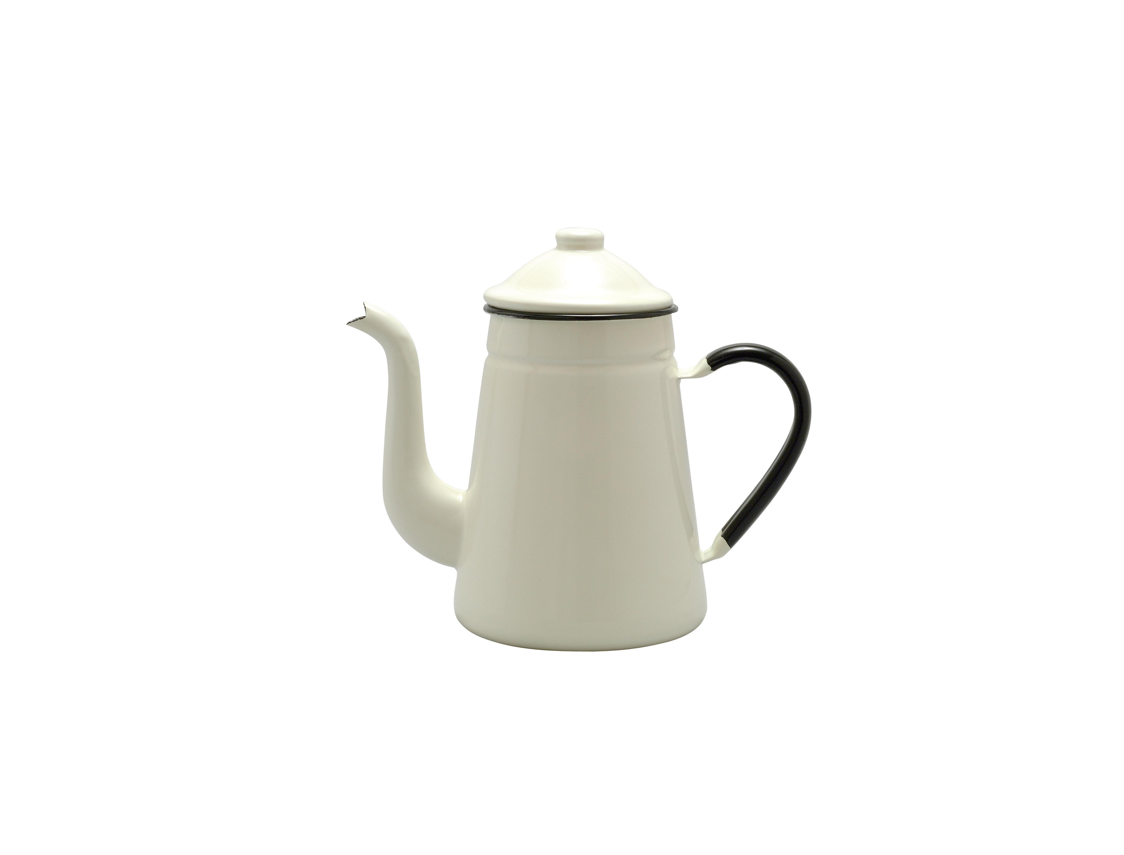 日本制Noda Horo經典麒麟Kirin Coffee pot搪瓷咖啡壺手沖可直火
