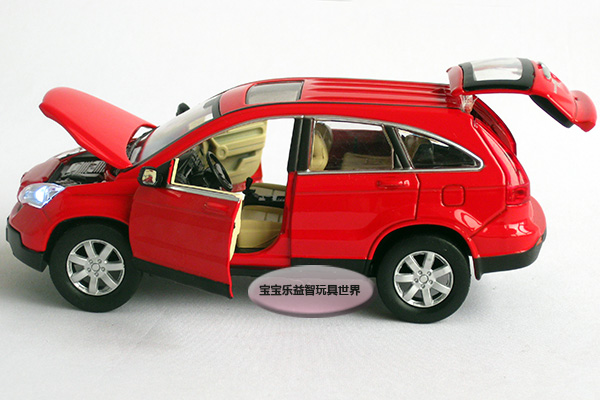 White The Honda Cr V Is Genuine Authorized Car Model