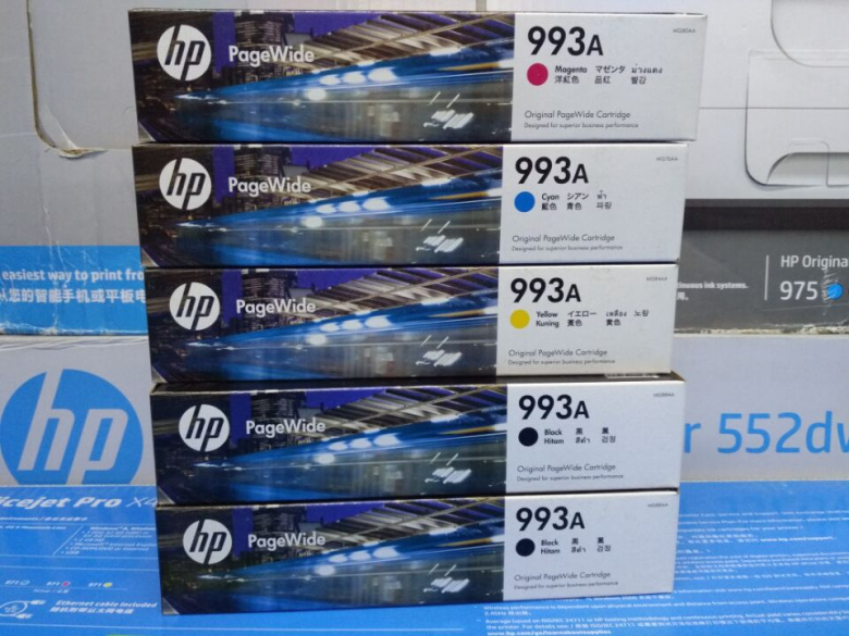 Original HP HP993X 993A page width Pro772dn 77740 777 774DN printer  cartridge