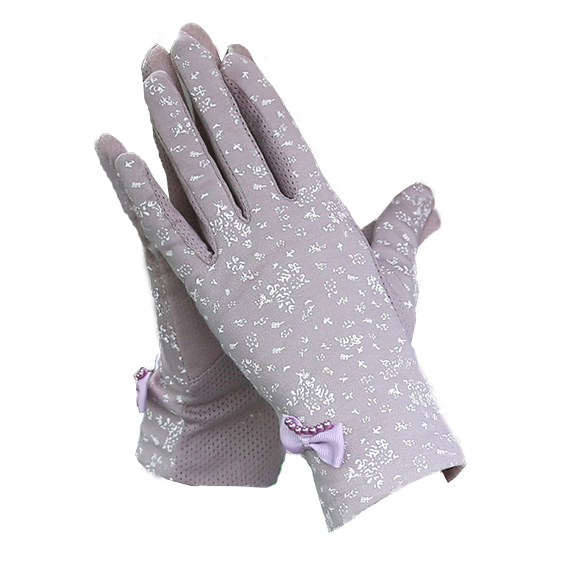 Driving Sun Protection Gloves Ladies Thin Section Summer
