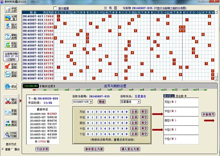 时时彩五星综合分布�_新时时彩霸主/江西五星后三后二后一缩水过滤预测非人工计划软件