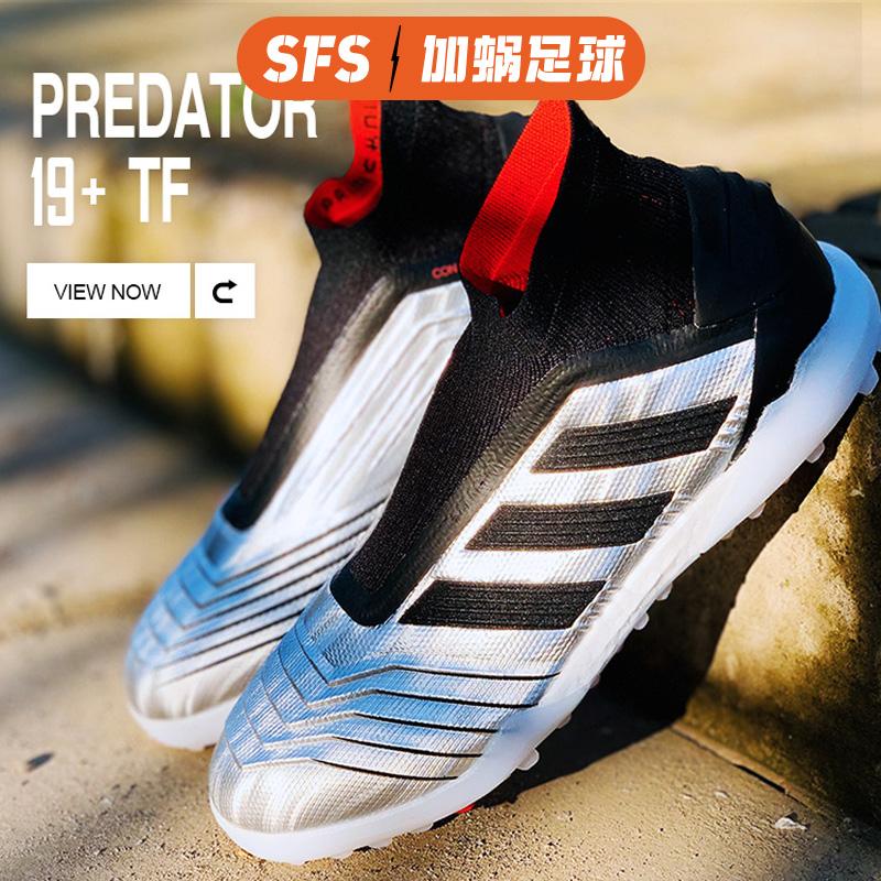 SFS Adidas chính hãng Falcon 19+ TF gãy móng chân cỏ nhân tạo giày bóng đá cao cấp nam F35624 - Giày bóng đá