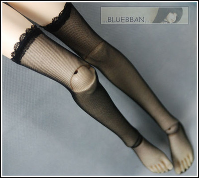 taobao agent The store manager recommends BJD/DD/DY to wear black fishnet stockings, good elasticity, Shanghai store