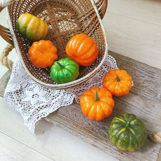 Simulation pumpkin vegetable model simulation fruits and vegetables photography photography props increase realistic decoration props