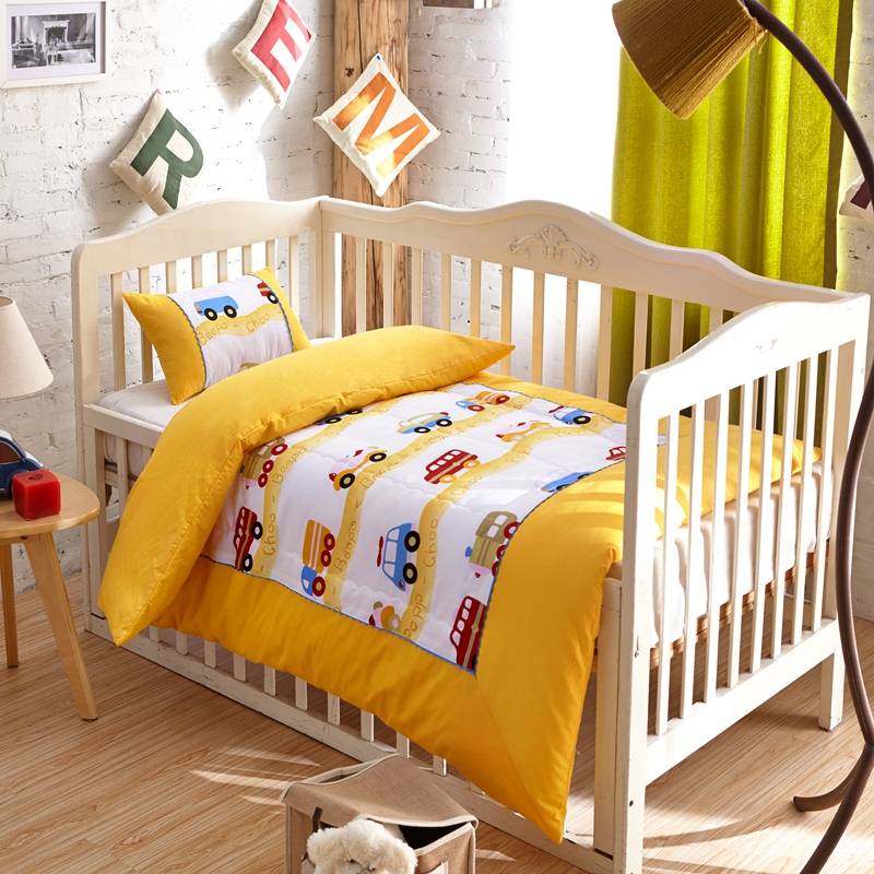 Yingying Genuine Cotton Kindergarten Four Seasons quilt three pieces of cotton lunch break six or seven sets of autumn and winter sub-mother bedding