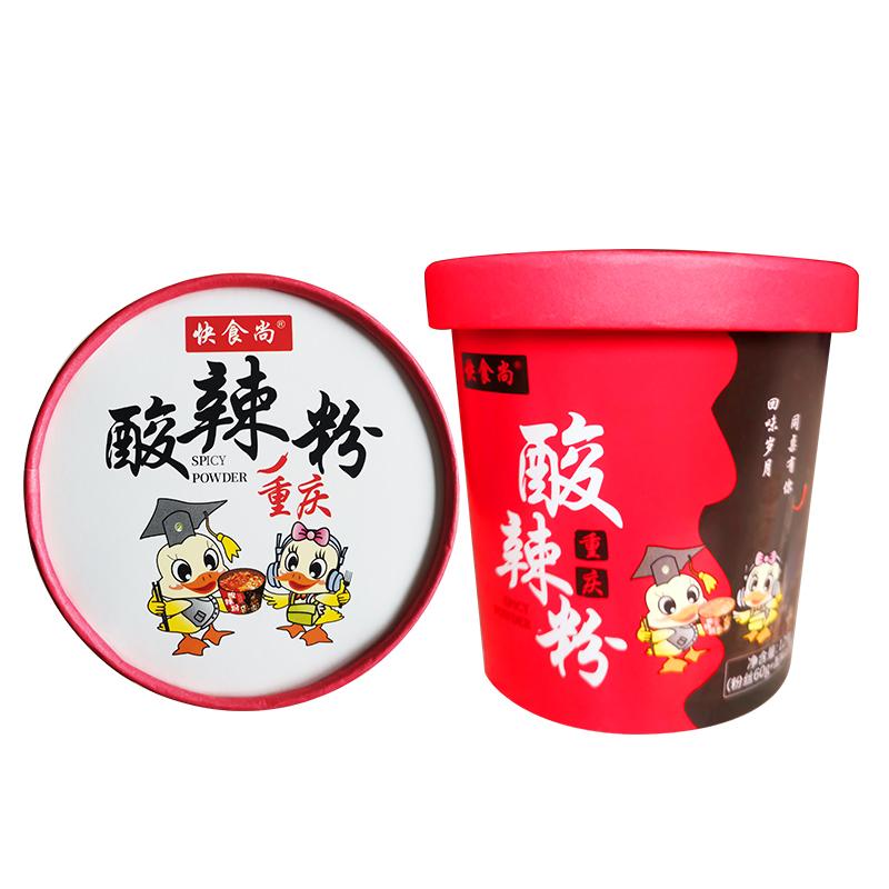 渝珍快食尚4/6桶装酸辣粉