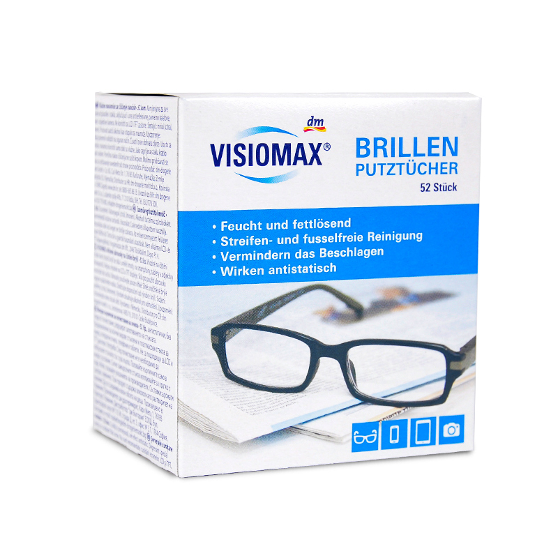 USD 10.66] German DM glasses Cloth brillen disposable high-grade ...