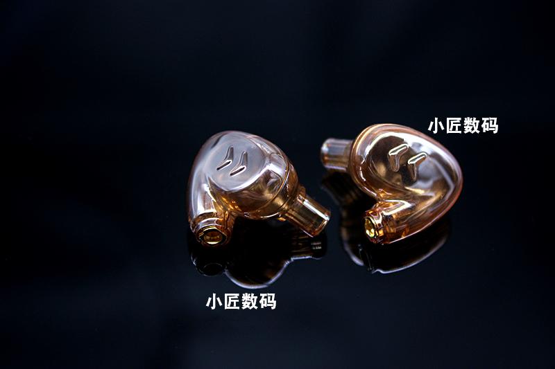双动圈双单元8mm7mm透明入耳式耳机外壳耳机壳diy耳机配件