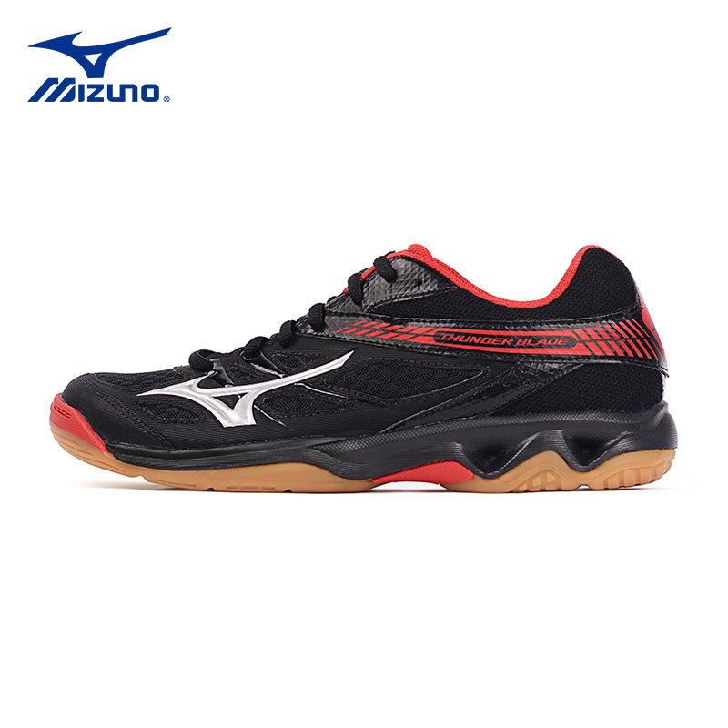 Mizuno Mizuno bóng chuyền giày cho nam giới và phụ nữ mô hình kích thước lớn hấp thụ sốc tích hợp trong nhà và ngoài trời giày thể thao cầu lông giày