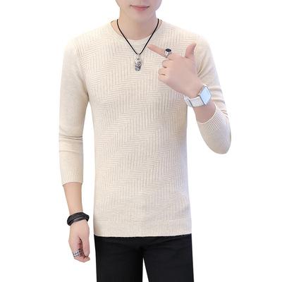 2019 thu đông thanh niên áo len giản dị nam phong cách Hàn Quốc bảo hiểm hoang dã áo len nam áo khoác nam thời trang - Cardigan