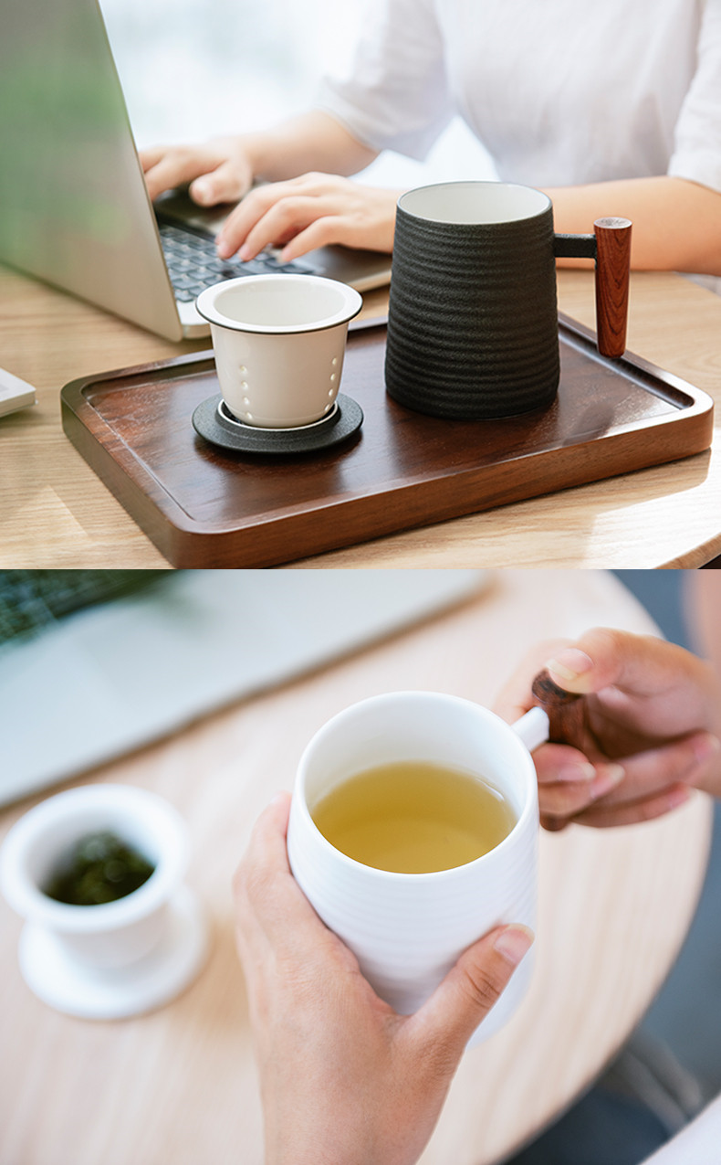 Jingdezhen ceramic cups with handles resistant office cup ultimately responds cup tea separated couples. A household