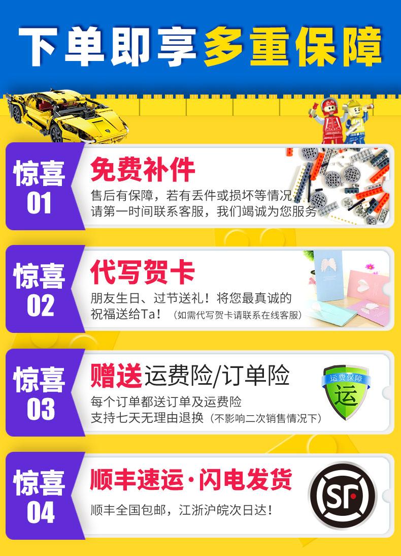 乐高车系列蓝宝坚尼程式设计跑车赛车遥控拼装积木玩具模型高难度男孩详细照片