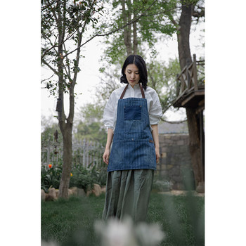 PLANTS DREAM / Neverland garden gardening household cleaning water washing to do the old cowboy aprons