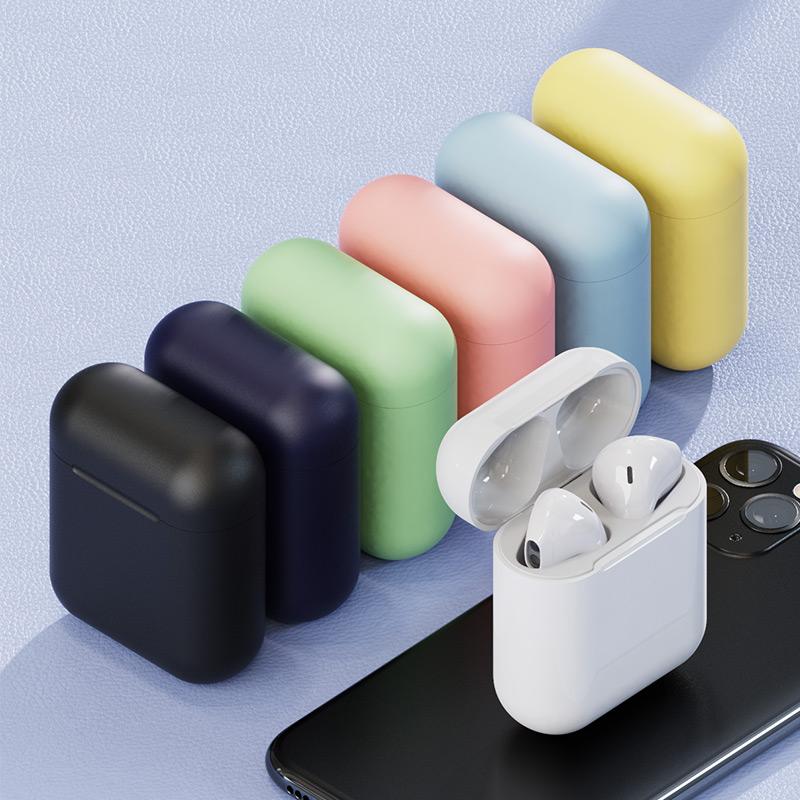 英菲克无线蓝牙耳机双耳适用苹果小米vivo华为oppo安卓通用iPhone入耳式单耳隐形超长待机续航马卡龙女生可爱