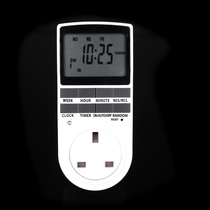 Timer kitchen electric car reservation timing switch socket automatic power off