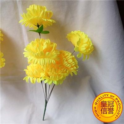 Usd 471 silk flower chrysanthemum beam qingming flower simulation silk flower chrysanthemum beam qingming flower simulation flower false chrysanthemum flower on the graves white matter mightylinksfo