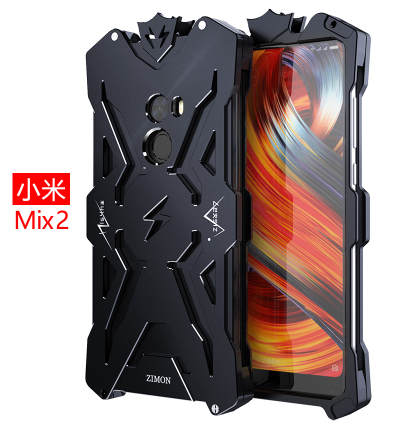 the latest 1e047 ea9ca Details about Luxury Thor Shockproof Aluminum Protection Case Bumper Cover  For Xiaomi Mi Mix 2