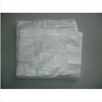 白色垃圾袋小号家用酒店宾馆客房办公纸篓专用平口式包邮详细照片