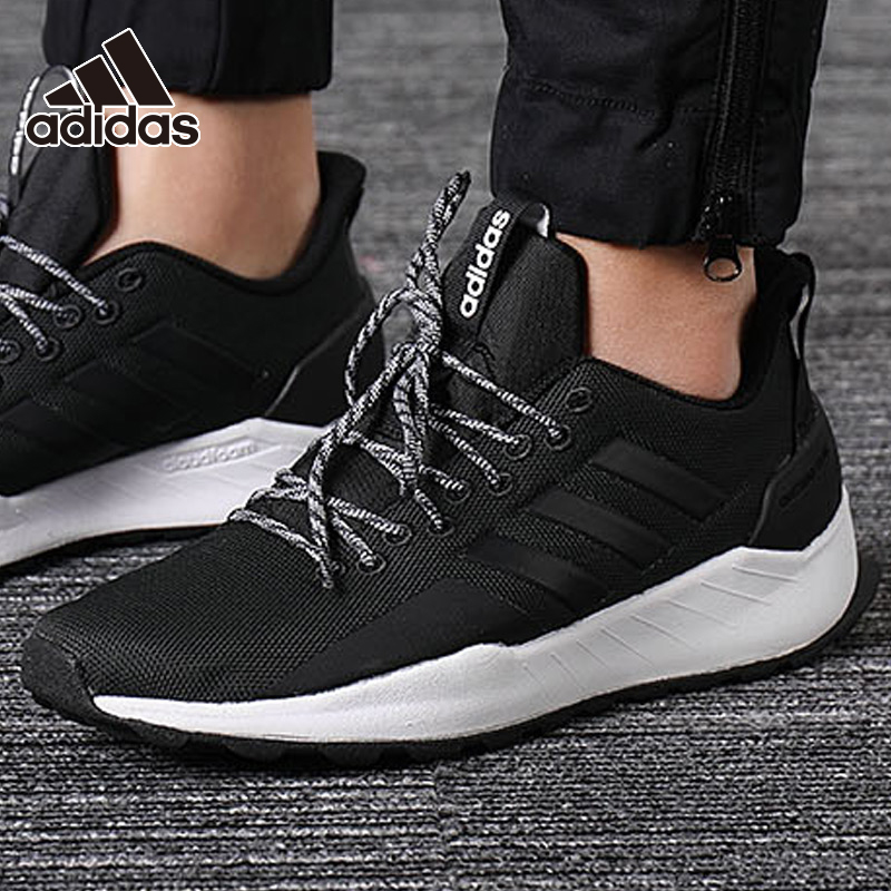 ADIDAS men's shoes 2019 autumn and winter sports shoes low top lightweight casual running shoes BB7438