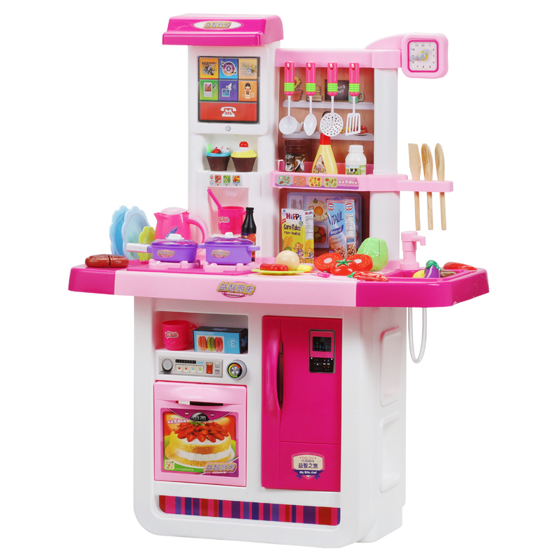 Girl Play House Children S Kitchen Toy Set Simulation Kitchenware