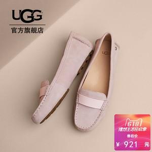 UGG2018初夏新款女士单鞋卡莉斯系列加宽版平底豆豆鞋 1020125W